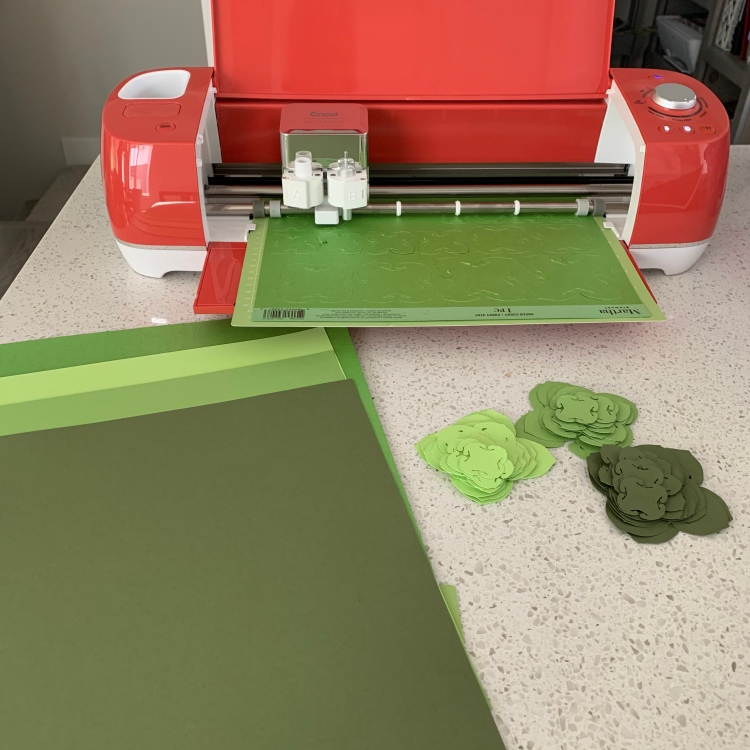 Crafting with Cricut